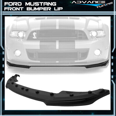 $135.99 • Buy For 10-14 Ford Mustang Shelby GT500 OE Style Front Bumper Lip Unpainted PP