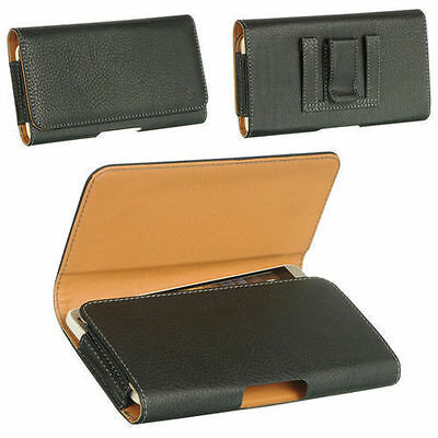 AU20 • Buy Brand New Universal Belt Clip Leather Case Pouch For Mobile Phones