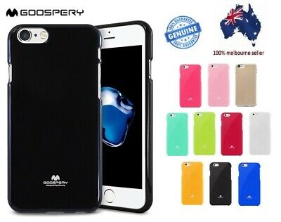 AU8.99 • Buy Goospery Soft Shockproof SLIM Rubber Jelly Case Iphone SE 5 6s 7 8 PLUS X XR 11