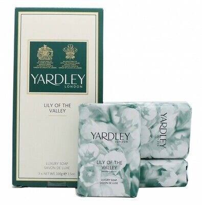 Yardley Lily Of The Valley Soap - Women's For Her. New. Free Shipping • 9.54£