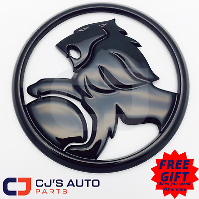 AU35.16 • Buy Holden Gloss Black Lion Badge Commodore Grille VE SV6 SS SSV Calais Berlina