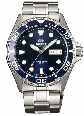 $ CDN362.02 • Buy ORIENT  Ray 2  Diving Sport Automatic 200M Watch Blue Dial FAA02005D