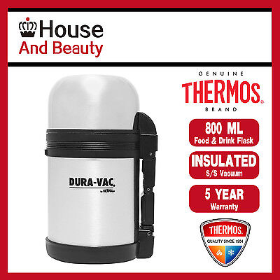 AU30.69 • Buy New THERMOS THERMOCafe Stainless Steel Vacuum Insulated Food & Drink Flask 800ml