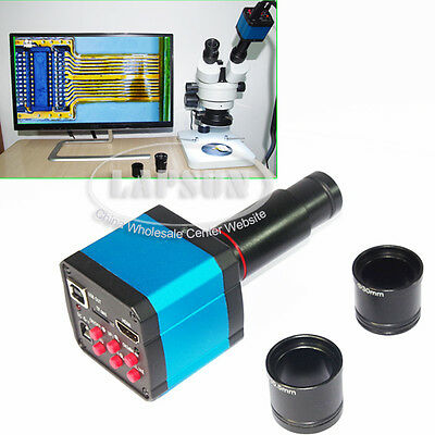 $115 • Buy 14MP 1080P Industry HDMI USB Stereo Microscope Camera With Eyepiece Lens Adapter