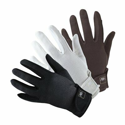 £22.95 • Buy Woof Wear Grand Prix Riding Gloves - Black White And Brown - NEW