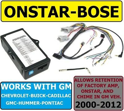 $99.99 • Buy Bose-onstar-adapter For Gm Car Truck Suv Van Car Radio Stereo Installation