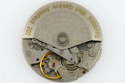 $350 • Buy RAYMOND WEIL Amadeus 200 Chronograph Valjoux 7750 Watch Movement (1597)
