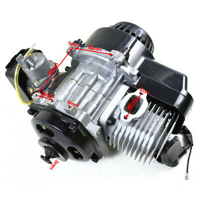 AU85.99 • Buy 49cc 2 Stroke Engine Motor Pull Start Motorbike Pocket Bike Mini Dirt Atv Quad