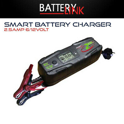 AU84.76 • Buy Smart Battery Charger 2.5amp 6/12volt - For Automotive And Marine