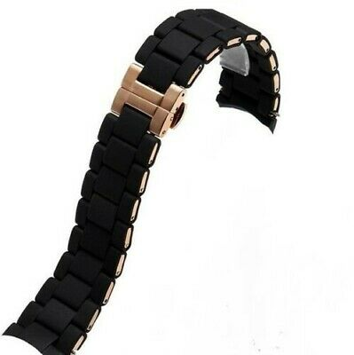Official Emporio Armani Mens Watch Strap AR5905 Complete With Clasp + Pins! • 10£