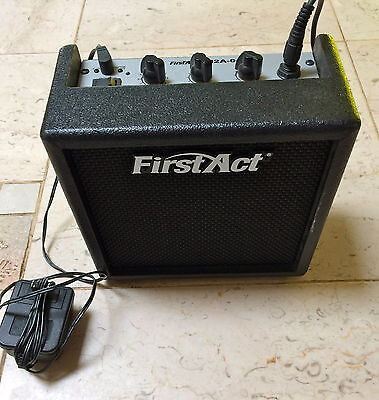 $ CDN39.55 • Buy First Act Practice Amp Model M2A-04 W/Power & Cord