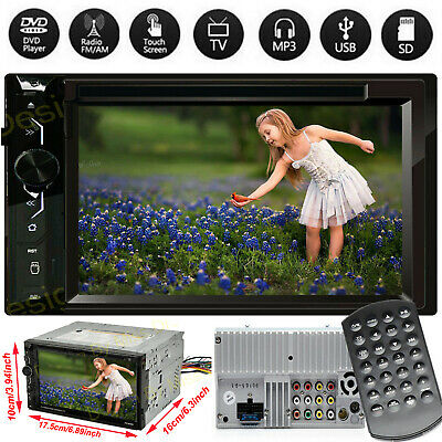 $111.90 • Buy Fit GMC Yukon XL 1500 2500 6.2 Double 2Din Bluetooth Car Stereo DVD Player Radio