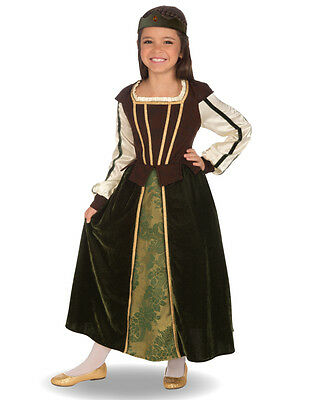 $22.90 • Buy Child Maid Marian Renaissance Lady Medieval Costume