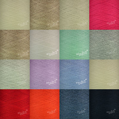 TODD & DUNCAN SOFT CASHMERE COTTON YARN 200g CONE FINE LACE WEIGHT COBWEB 1 PLY • 14.99£