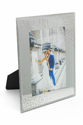 £9.23 • Buy Wedding Gift 5 X 7 Photo Frame Mr And Mrs New Boxed WG83157