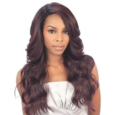 £42.99 • Buy FreeTress Equal Synthetic Brazilian Natural L Part Lace Front Hair Wig - Danity