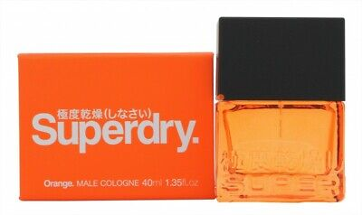 Superdry Orange Cologne 40ml Spray - Men's For Him. New. Free Shipping • 18.11£