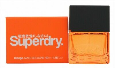 Superdry Orange Cologne 40ml Spray - Men's For Him. New. Free Shipping • 21.78£