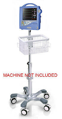 $299 • Buy Rolling Roll Stand For Critikon Dinamap Pro 1000 Patient Monitor New (big Wheel)