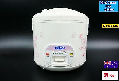 AU80 • Buy TOYO Deluxe 2 In 1 Rice Cooker With Keep Warm Function CFXB50 (10 Cups/1.8L)