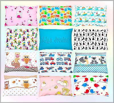 Cot / Cot Bed Spare Pillowcases 40x60 Cm New Patterns Cotton Baby Boy Girl  Kids • 4.49£