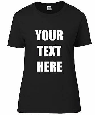 £8.50 • Buy LADIES T-SHIRTS PERSONALISED - Hen Nights, Fun, Work, ANY TEXT!