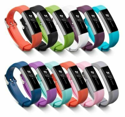 $ CDN5.93 • Buy For Fitbit Alta / Alta HR / Ace - Replacement Silicone Watch Strap Band Plain UK