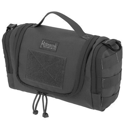 AU139.95 • Buy Maxpedition Aftermath Tactical Mens Toiletry Wash Bag Compact Travel Pouch Black