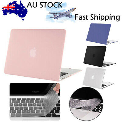 AU21.99 • Buy Laptop Lid Rubberized Shell Case Cover For Macbook Pro 13/15 Air 13/11  Inch NEW