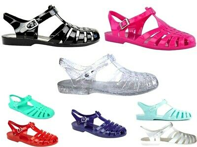 £4.99 • Buy Ladies Womens Jelly Shoes Beach Sandals Summer Holiday Flip Flops Sea Shoe Size
