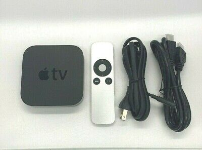 AU104.20 • Buy Apple TV 3rd Generation (2013) + Remote & HDMI Cable Used     GREAT.       #309