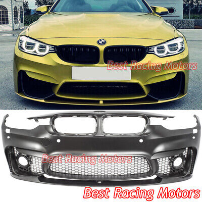 $549.99 • Buy M3 (F80) Style Front Bumper + Performance Style Front Lip Fit 12-18 BMW F30 F31