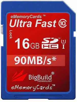 16GB Memory Card For Canon PowerShot A810 Camera | Class 10 80MB/s SD SDHC New • 8.95£