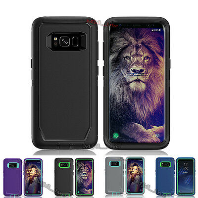 $ CDN14.46 • Buy For Samsung Galaxy S8,S8+, Defender Case With (Holster Belt Clip Fits Otter Box)