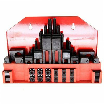 $63.99 • Buy HFS(R) 58Pc 5/8  Slot 1/2 -13 Stud Hold Down Clamp Clamping Set Bridgeport Mill
