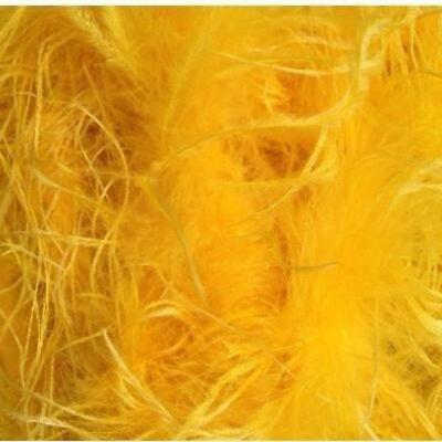 £14.61 • Buy Ostrich & Marabou Feather Boa - Yellow