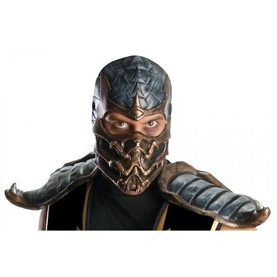 scorpion overhead mask costume mask adult mortal kombat halloween