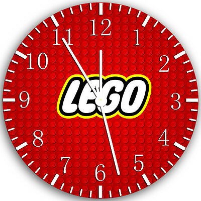 Lego Wall Clock 10  Will Be Nice Gift And Room Wall Decor Z63 • 13.22£