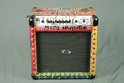 $ CDN1038.79 • Buy Missisippi Blues Special  Art Work Non Working Guitar Amp By Lamar Sorrento