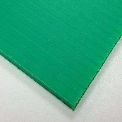 £129.99 • Buy 4mm Green Correx Fluted Corrugated Plastic Sheet 9 SIZES TO CHOOSE