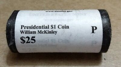 $73.95 • Buy 2013 P William McKinley Presidential  Unopened  Mint Dollar 25 Coin ROLL $