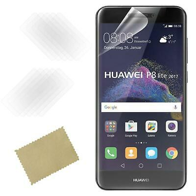 £2.95 • Buy Pack Of 2 For Huawei P8 Lite 2017 New Clear LCD Film Phone Screen Protector