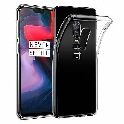 AU7.99 • Buy Soft Crystal Clear Transparent Shockproof  Gel Case Cover For OnePlus 5 5T 6