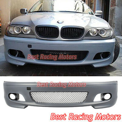 $298.99 • Buy M-Tech II Style Front Bumper Cover Fits 00-06 BMW E46 3-Series 2dr Coupe