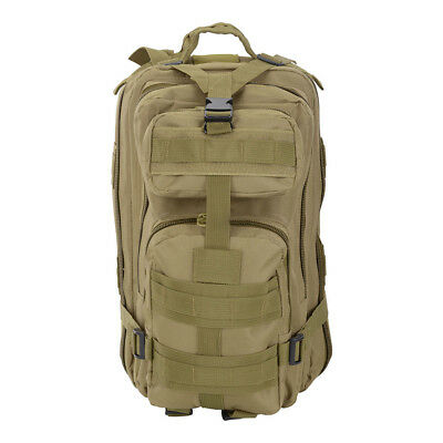 AU30.99 • Buy 28L Rucksack Camping Hiking Bag Army Military Tactical Outdoor Backpack Trekking
