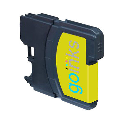 £3.90 • Buy 1 Yellow Ink Cartridge Compatible With Brother DCP-165C MFC-250C DCP-6690CW