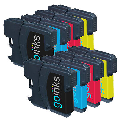 £6.85 • Buy 8 Ink Cartridges (Set) Compatible With Brother DCP-165C MFC-250C DCP-6690CW