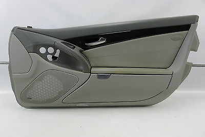 $129.99 • Buy 04 Mercedes R230 SL55 SL500 Right Interior Door Panel Leather Alpaca Gray