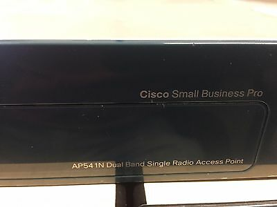 CISCO Small Business Pro AP541N-A-K9 Dual Band Single Radio Access Point • 18$