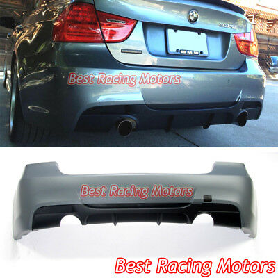 $524.99 • Buy Performance Style Rear Bumper (Dual Exhaust) Fit 06-11 BMW E90 4dr 3-Series 335i